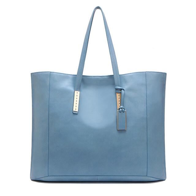 조이그라이슨[조이그라이슨] 딜란 쇼퍼백_SMOKY BLUE LW8SD4230
