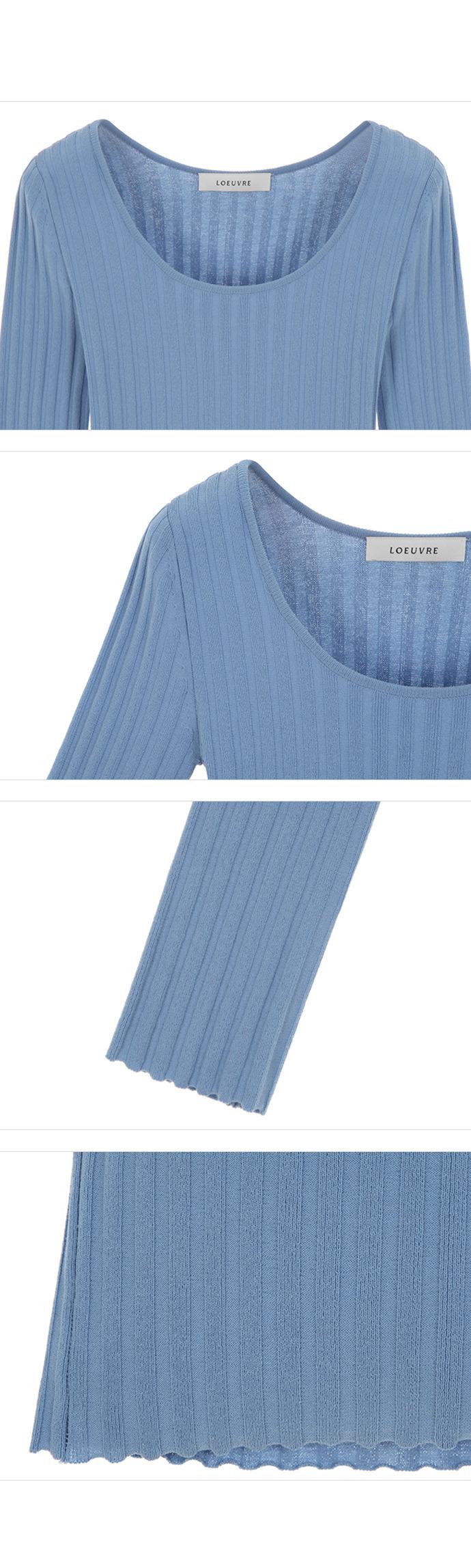 루에브르(LOEUVRE) Boat & U-neck knit SK0SP024-AM