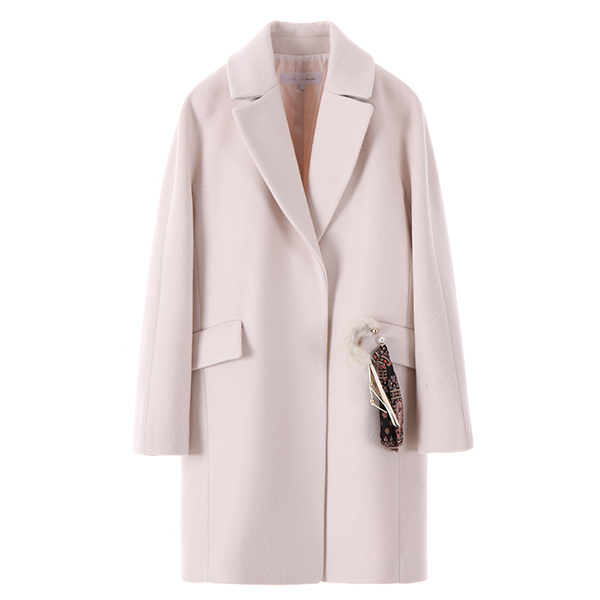 olive raglan wool coat OW7WH5660