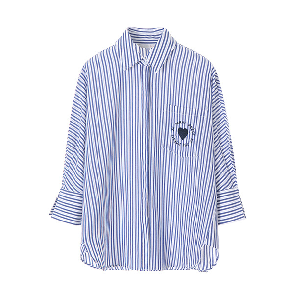 multi stripe shirt OW8MB411A