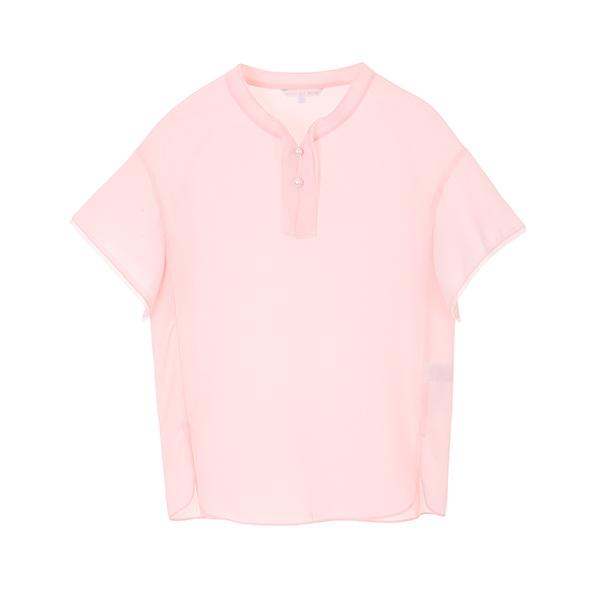 올리브데올리브[올리브데올리브] ruffle pearl blouse OW8MB4290