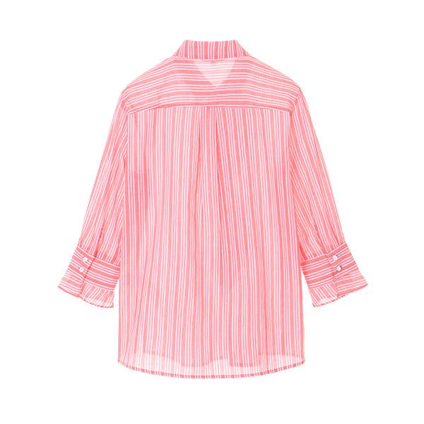 ruffle line shirt OW8MB451S