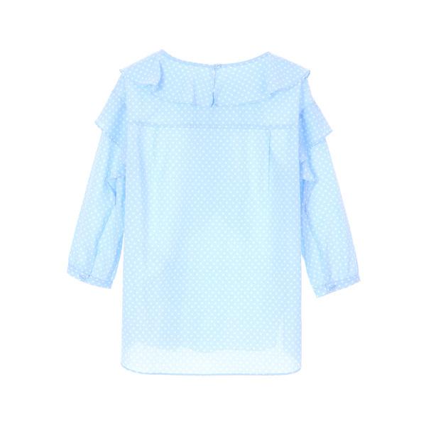 올리브데올리브[올리브데올리브] pattern detail blouse OW8MB4790