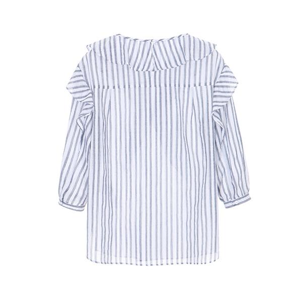 올리브데올리브[올리브데올리브] pattern detail blouse OW8MB479A