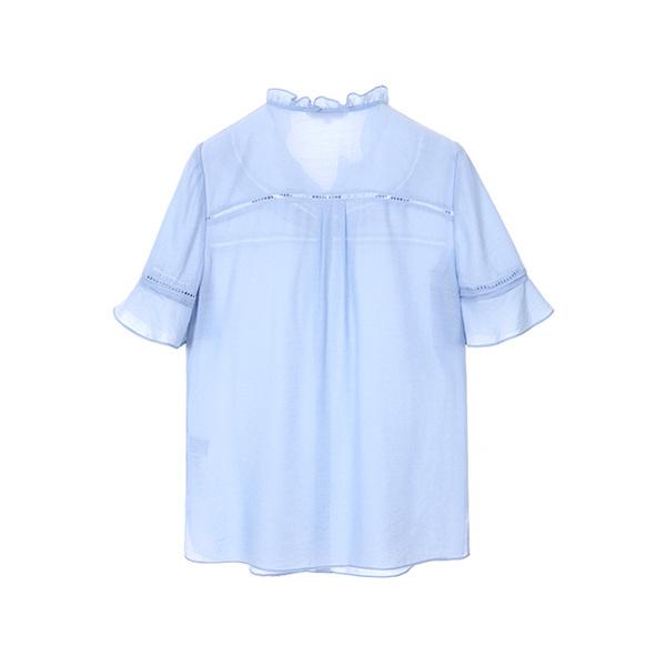 올리브데올리브[올리브데올리브] punching frill blouse OW8MB4810