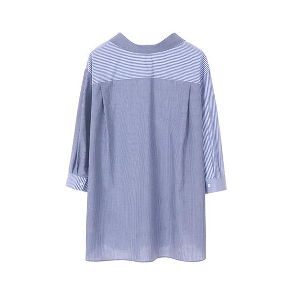 올리브데올리브[올리브데올리브] mix stripe shirt OW8MB4820