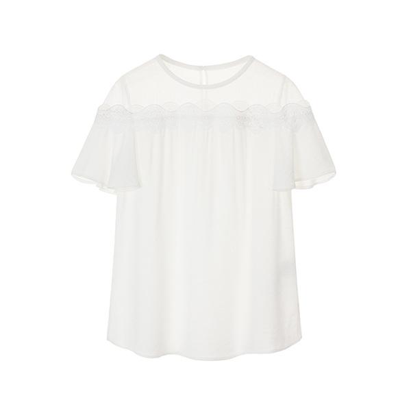 올리브데올리브[올리브데올리브] lace top blouse OW8MB5170