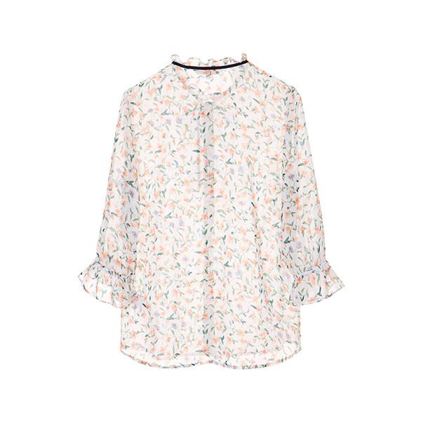 올리브데올리브[올리브데올리브] see-through floral blouse OW8MB5280