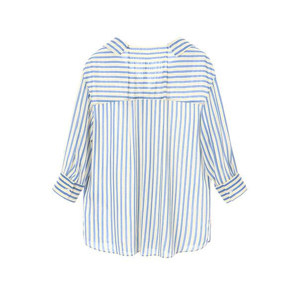 v-neck stripe shirt OW8MB904