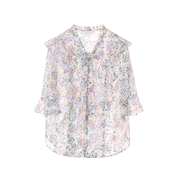 chiffon floral blouse OW8MB9080