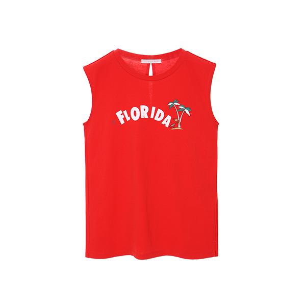 florida lettering sleeveless t-shirts OW8ME6060