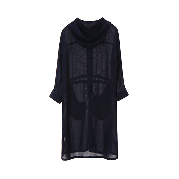 올리브데올리브[올리브데올리브] linen hoody long jacket OW8MM560S