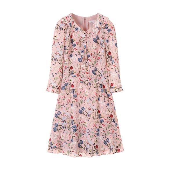 올리브데올리브[올리브데올리브] floral frill dress OW8MO391B