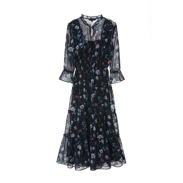 chaming floral maxi dress OW8MO397B