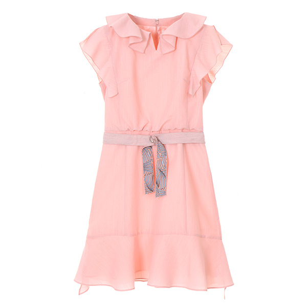 frill belted dress OW8MO4200