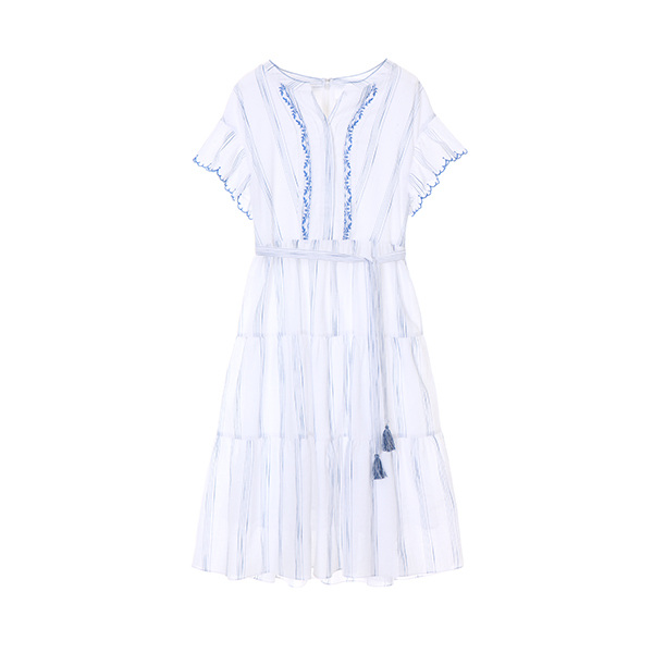 ethnic embroidery dress OW8MO422