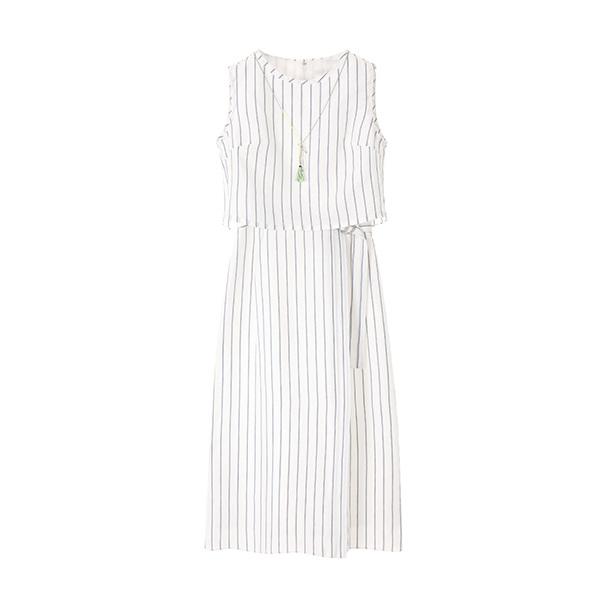 올리브데올리브[올리브데올리브] belted long dress OW8MO4230