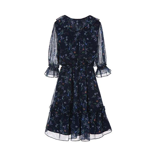 올리브데올리브[올리브데올리브] floral chiffon dress OW8MO4680