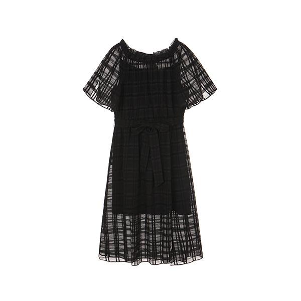 올리브데올리브[올리브데올리브] chiffon off shoulder dress OW8MO5100