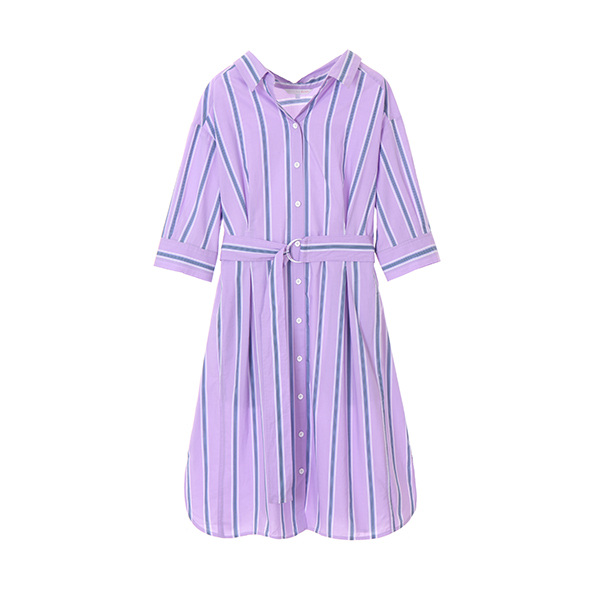 color pin stripe dress OW8MO9070