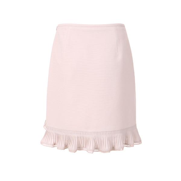 unbalance pleats skirt OW8MS372