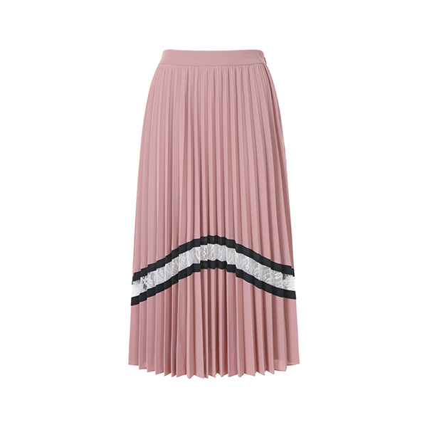 pleats patch point skirt OW8MS454S