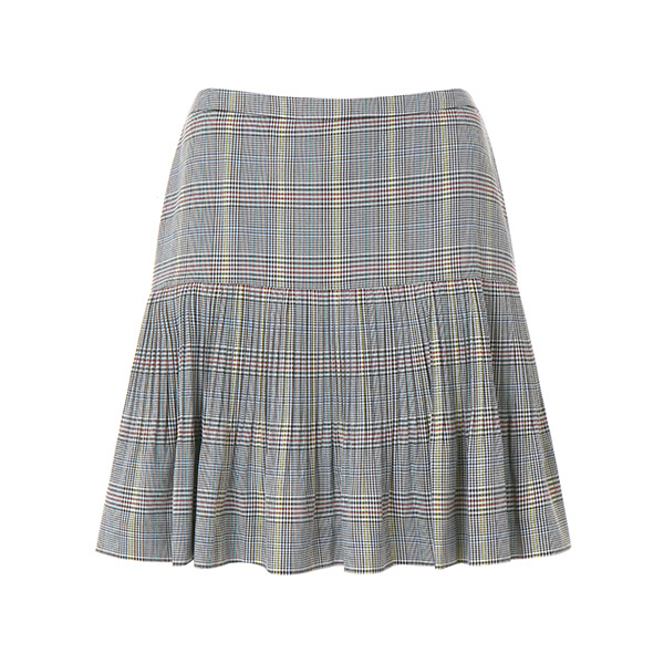 check pleats skirt OW8MS4910
