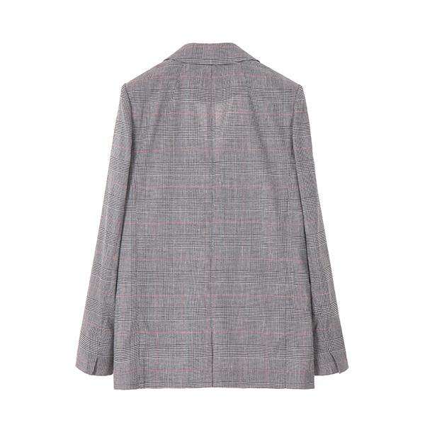 linen double check jacket OW8MZ050B