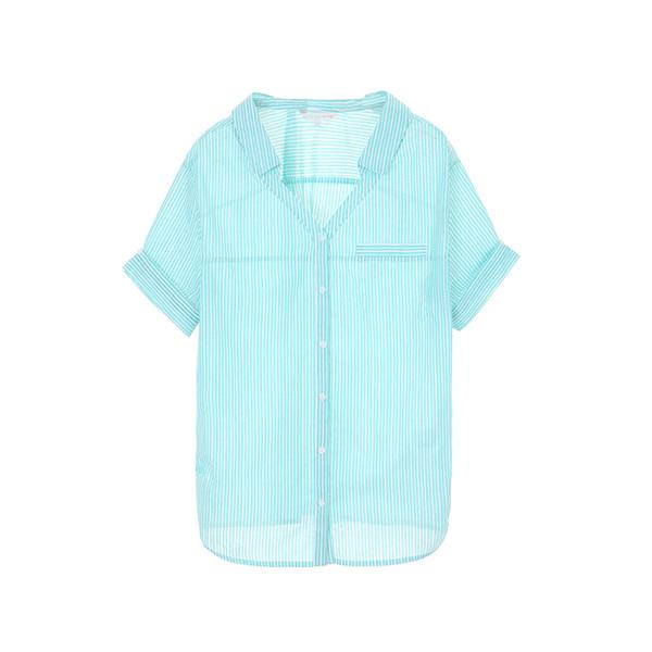 stripe opened neck shirts OW8MZ0640