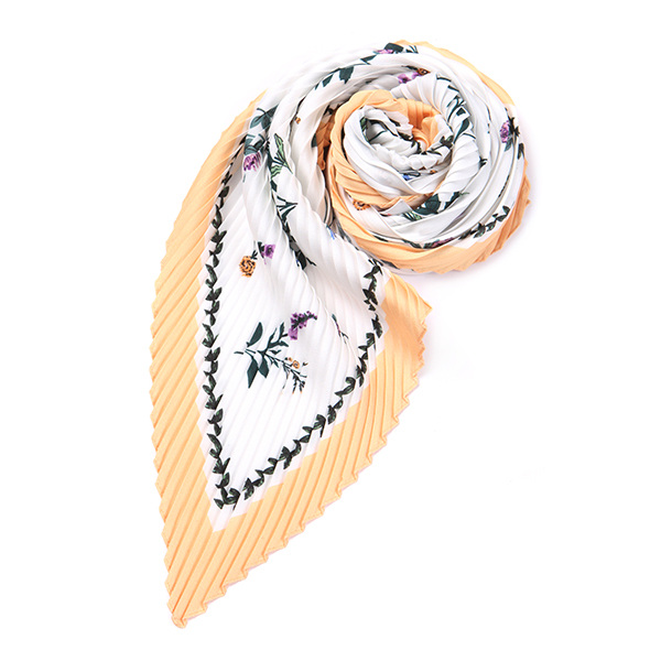 printed pleat scarf OX8MF0820
