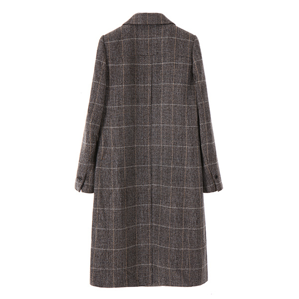 classic visual check coat NW7WH4220
