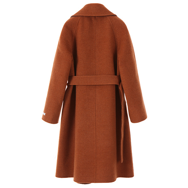 belted loose-fit wool coat NW7WH7210