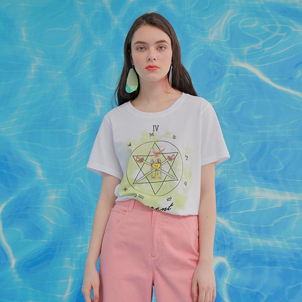 온앤온[온앤온] 루즈핏 나염 티셔츠 NW9ME321
