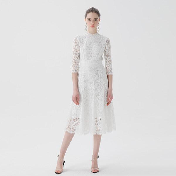 온앤온[온앤온] 플레어 튤 레이스 드레스 NW9MO1690