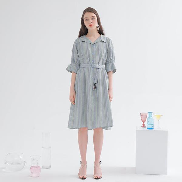 온앤온[온앤온] 루즈핏 셔츠 원피스 NW9MO200