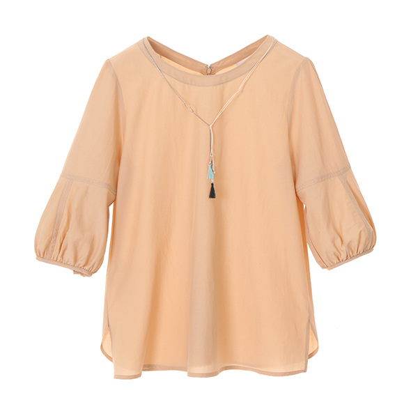 volume round blouse NW8MB7000
