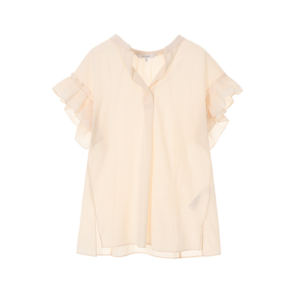 frill wrinkle blouse NW8MB7380