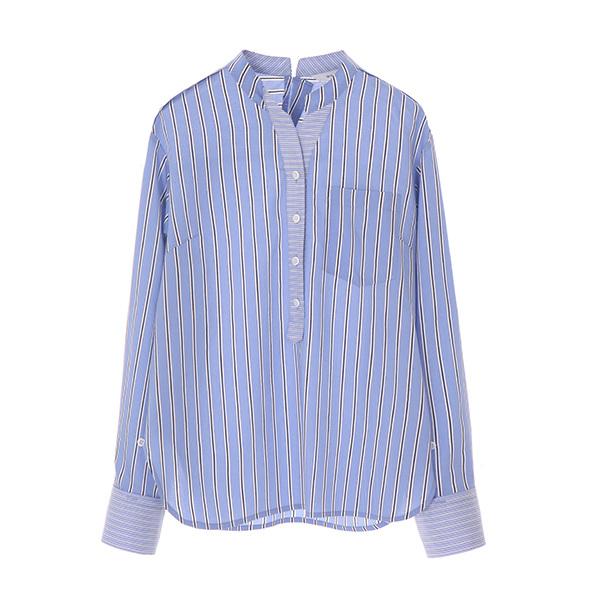 v-neck frill shirt NW8MB7530