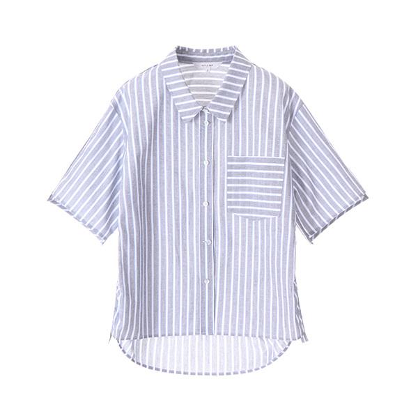stripe taping shirt NW8MB8310