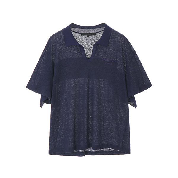linen loose-fit t-shirt NW8ME8900