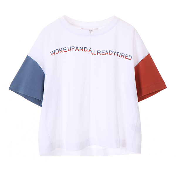 coloring crop t-shirt NW8ME8920