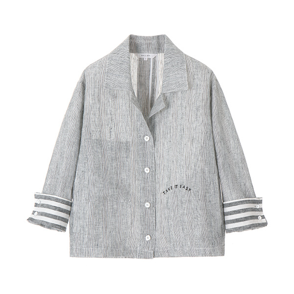 linen short jacket NW8MJ8640