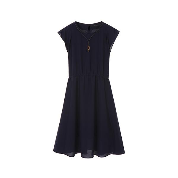 밴딩 쉬폰 드레스 NW8MO6700