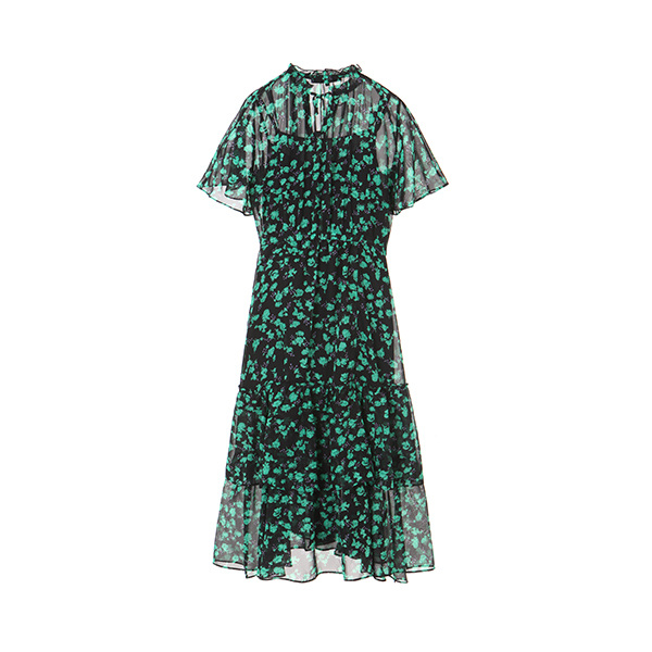 floral chiffon dress NW8MO857R