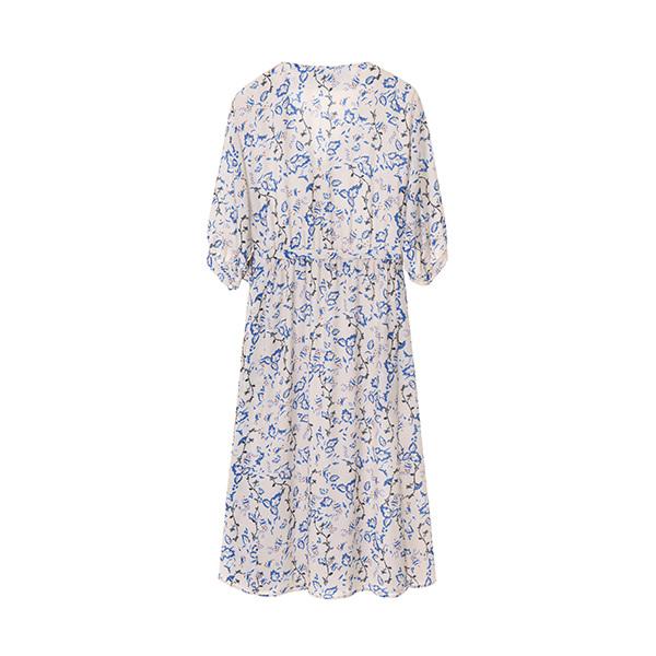 v-neck chiffon dress NW8MO8610