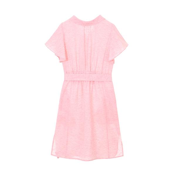 linen collar shirt dress NW8MO8730