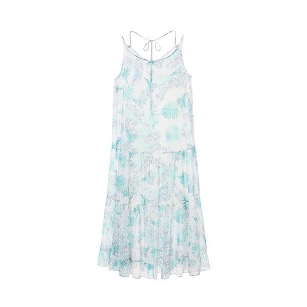 tropical print dress NW8MO8790