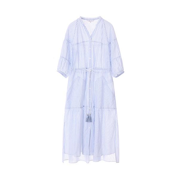 stripe pin shirt dress NW8MO882