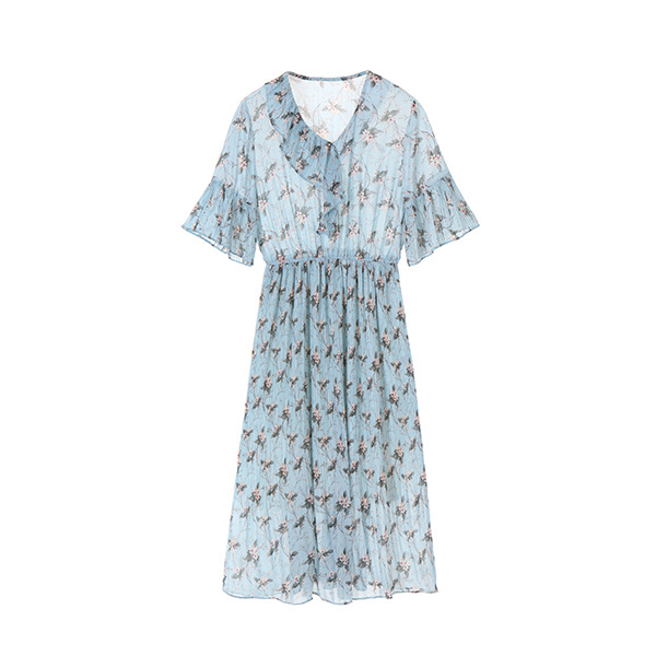 ice ruffle dress NW8MO9610