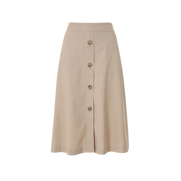 a-line button skirt NW8MS767